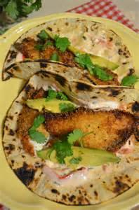 Fish Tacos with Tartar Sauce