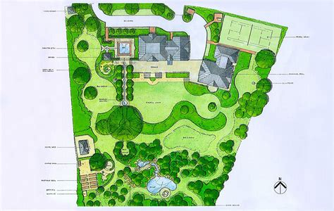 acres wild masterplan cool and composed acres landscape design garden planning gardens and