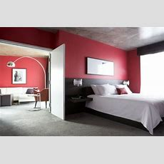 Integrating Red And Black In Your Bedroom With Red And