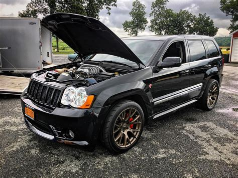trackhawk jeep srt boostaddict someone built their own jeep trackhawk