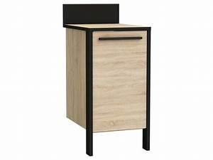 Element De Cuisine Conforama : meuble bas 1 porte cm fabrik f5 vente de meuble bas ~ Premium-room.com Idées de Décoration