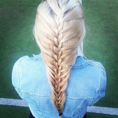 platinum mermaid braid hairstyles