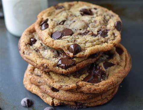 thin  crispy chocolate chip cookies modern honey