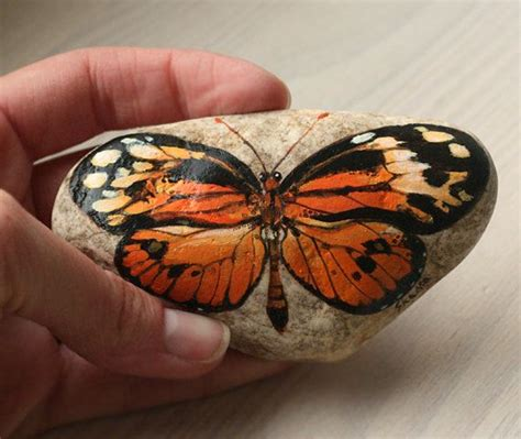 Butterfly And Stones by 17 Best Images About Rock Painting On Pet
