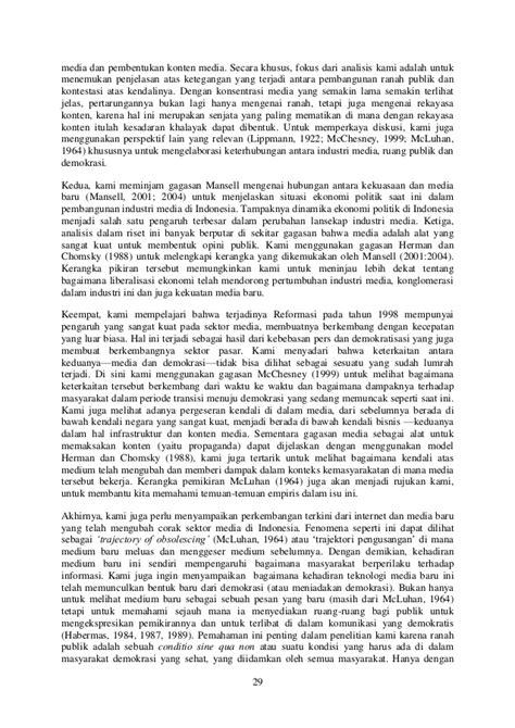 Memetakan Lansekap Industri Media Kontemporer di Indonesia