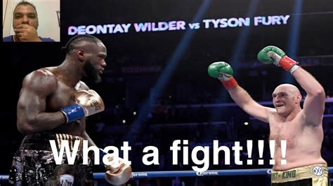 Tyson Fury vs Deontay Wilder 2 Fight Review!!! Fury was ...