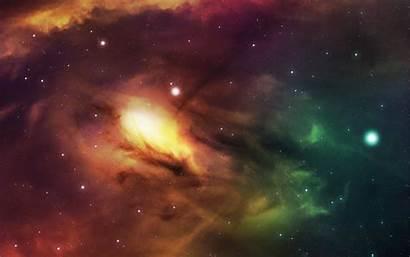 Space Desktop Open Yellow Universe Nebula Wallpapers