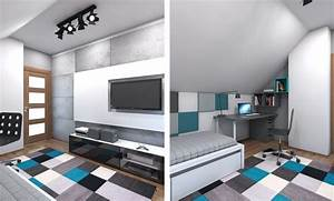 chambre enfant plus de 50 idees cool pour un petit espace With petite tele pour chambre