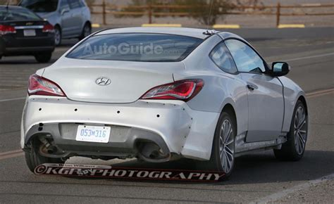 2016 hyundai genesis coupe sports cars 2016 hyundai genesis coupe spy photos reveal a much larger