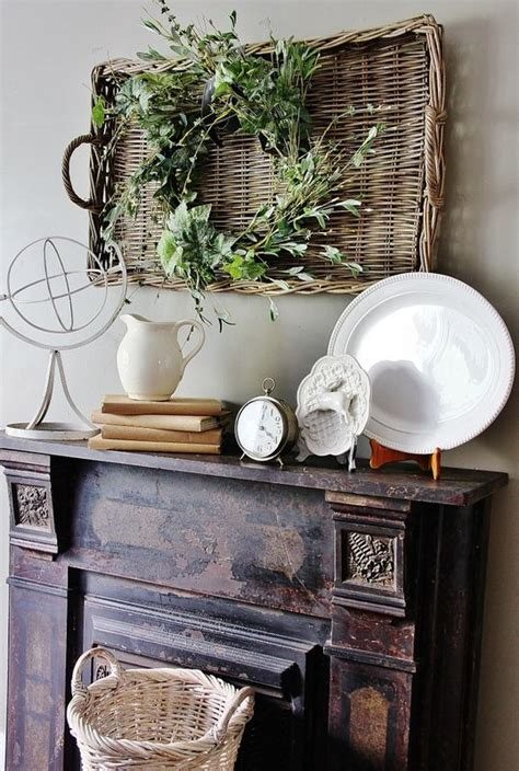 mantel displays rustic mantel decorating ideas woodworking projects plans