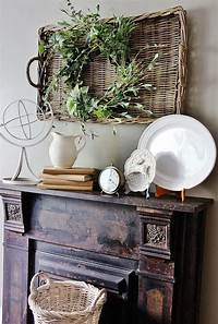 mantel decorating ideas Rustic Mantel Decorating Ideas - WoodWorking Projects & Plans