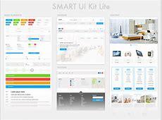 SMART UI Kit Lite Sketch freebie Download free resource