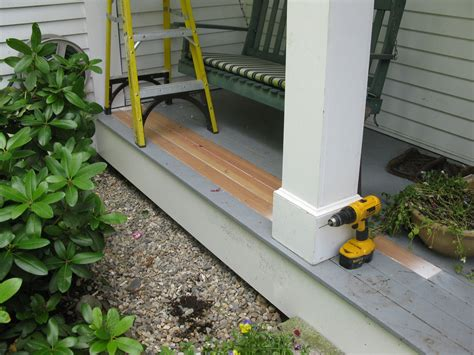 Porch Repair  A Concord Carpenter