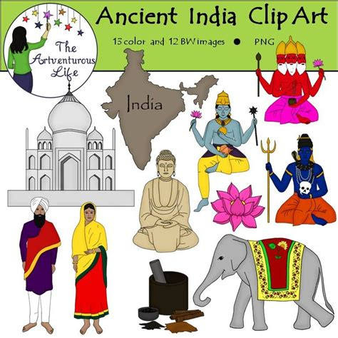indian clipart ancient india clip the artventurous clip