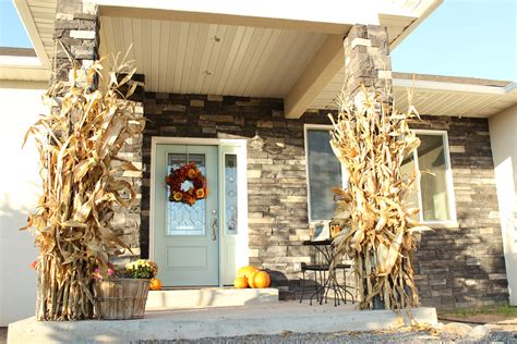where to buy corn stalks for decorating decorating with cornstalks just a
