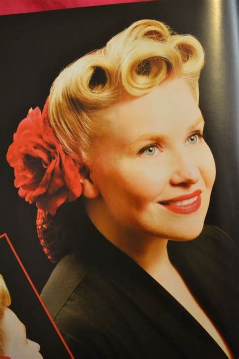 Simple 1940s Hairstyles by 1940s Hairstyles The Snood Style Just Beautiful