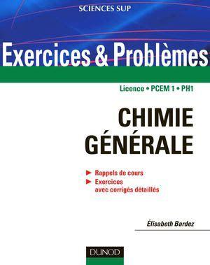 la chimie en cuisine calaméo chimie générale rappels de cours et exercices