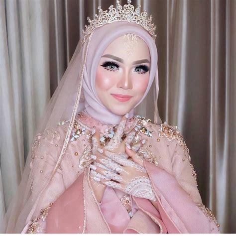 gaun pengantin muslimah model kebaya terbaru hijab trendy  model baju pengantin  terbaru