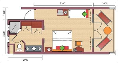 plan d une chambre d hotel hotel veranda paul et virginie 3 ile maurice hotel 3