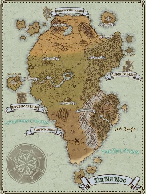 Another day another map - worldbuilding in 2020 | Fantasy ...