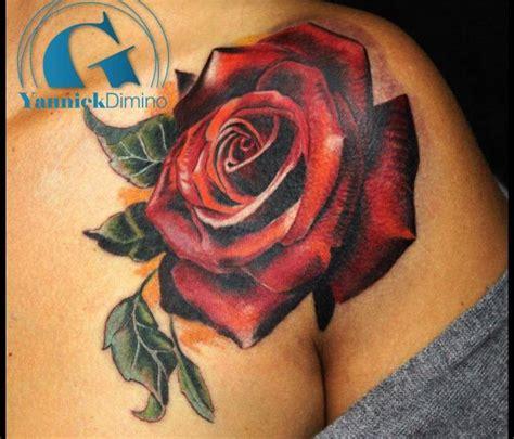 Tatouage Rose Graphicaderme