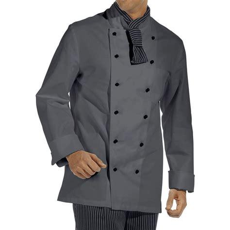poche cuisine veste de cuisine poche sur la manche larges manchettes à