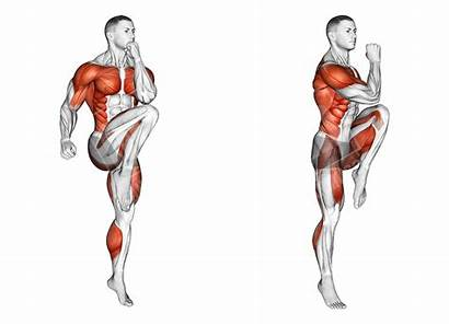 Knee Skips Without Workouts Bend Neck Hiit