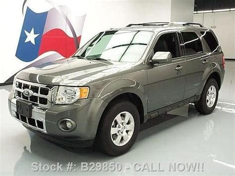 2011 Ford Escape Ltd by Find Used 2011 Ford Escape Ltd Awd 3 0l V6 Heated Leather