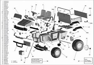 John Deere Gator 825i Parts Diagram