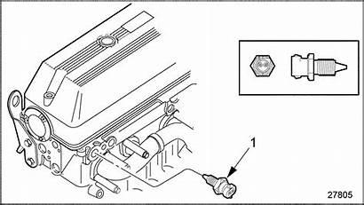 Sensor Coolant 60 Series Temperature Detroit Fuel