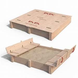 Sandkasten Kunststoff Xxl : isidor xxl sandkasten daggy aus massivholz unbehandelt sandkiste 195 4320 perg ~ Orissabook.com Haus und Dekorationen