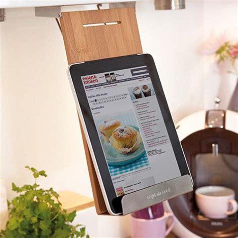 tablette pour recette de cuisine halter für kochbuch tablet co mit oder ohne