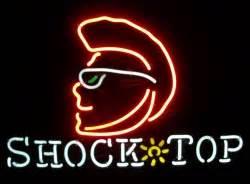 Shock Top Neon Beer Bar Sign Light