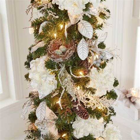 pencil trees christmas by ashland 7 ft pre lit green pencil artificial tree clear lights by ashland