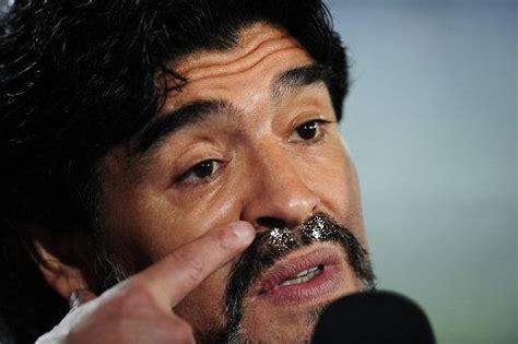 diego maradona steps   argentina coach  ate