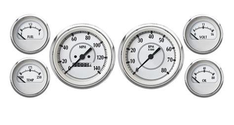 decorative gauges australia cal custom 174 performance series analog kit 223360403