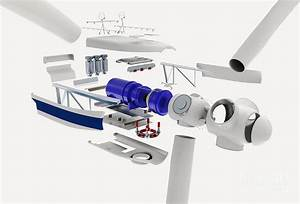 Wind Turbine  Exploded View Photograph By Nikid Design Ltd