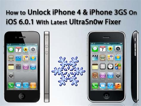 iphone 6 ios how to unlock iphone 3gs 4 running ios 6 using ultrasn0w 11350