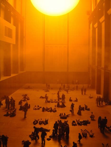 the unilever series olafur eliasson the weather project tate