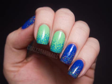 Neon Glitter Gradients Nail-venturous Lacquer