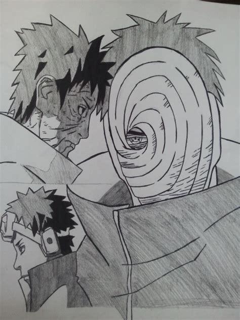 obito uchiha drawing anime fan art  fanpop