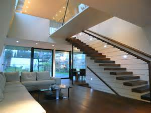 home design concepts geometrically sloping house exterior narrow site creation archinspire