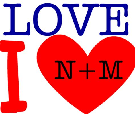 Love Love N+m Créé Par Nadia Limem Ilovegeneratorcom