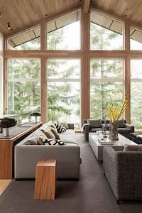Dco Salon Amnagement Intrieur Moderne D39une Maison Au