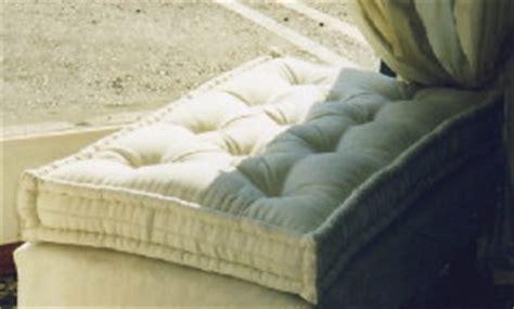 matelas tapissier pour banquette