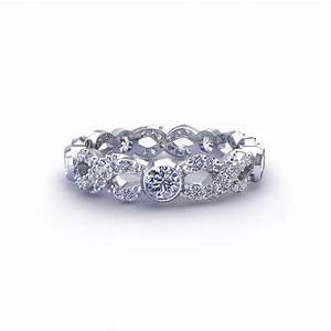 Diamond infinity wedding ring jewelry designs for Infinity design wedding ring