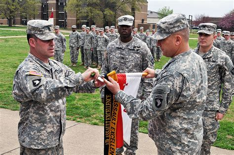 Fort Campbell's Strike Troop Reaches Gold Status, Apache Troops Earns Gold Air Assault