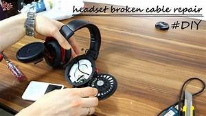 Hyperx Cloud Headphones Broken Cable Repair  Diy