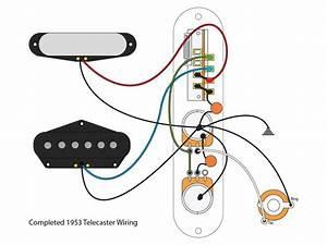 53  U0026quot Blackguard U0026quot  Tele Wiring Scheme