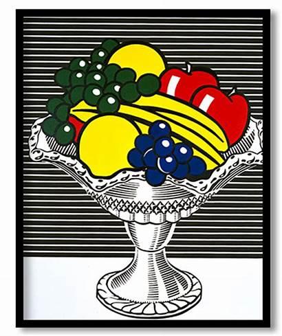 Still Bowl Crystal Lichtenstein Roy 1973 Paintings